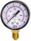 Индикатор давления радиальный латунный резьбовой GENEBRE 3820-025 PN25