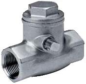 Клапан обратный резьбовой из нержавеющей стали Genebre 2430-09 PN16 DN50