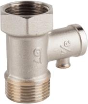 Клапан предохранительный и обратный латунный резьбовой GENEBRE 3193-05 PN16