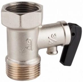 Клапан предохранительный и обратный латунный резьбовой GENEBRE 3194-05 PN16
