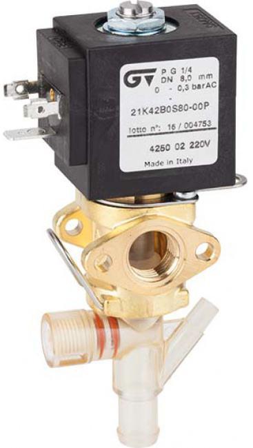 Соленоидный клапан прямого действия GENEBRE 4250-02-220V NC DN9 PN10