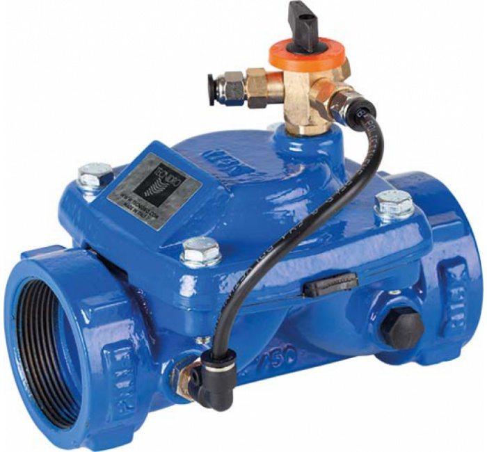 Гидравлический клапан с ручным управлением GENEBRE 4710-11 NC DN80 PN10