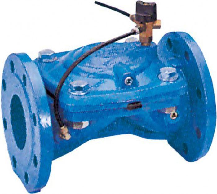 Гидравлический клапан с ручным управлением GENEBRE 4711-16 NC DN200 PN10