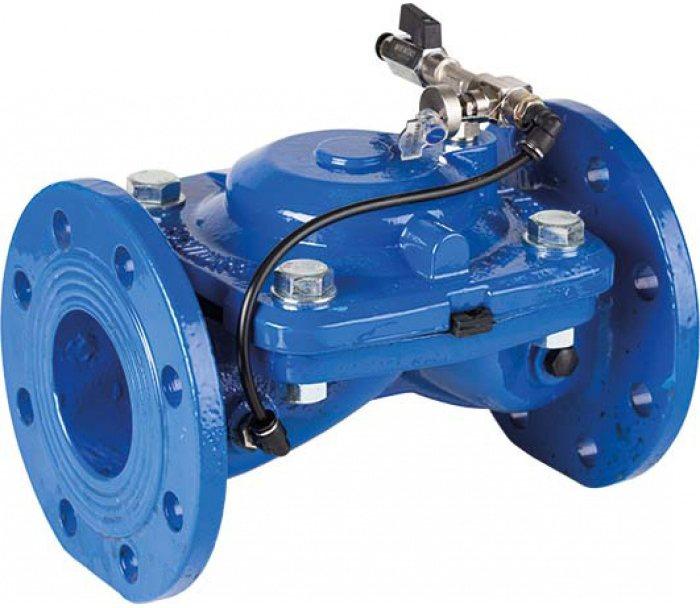 Гидравлический поплавковый клапан GENEBRE 4731-18 A24V NC DN250 PN10