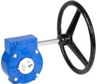 Редуктор механический к поворотному дисковому затвору чугунный Genebre 5976-200  DN200
