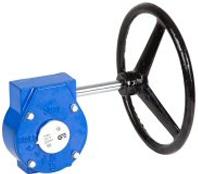 Редуктор механический к поворотному дисковому затвору чугунный Genebre 5977-300  DN300