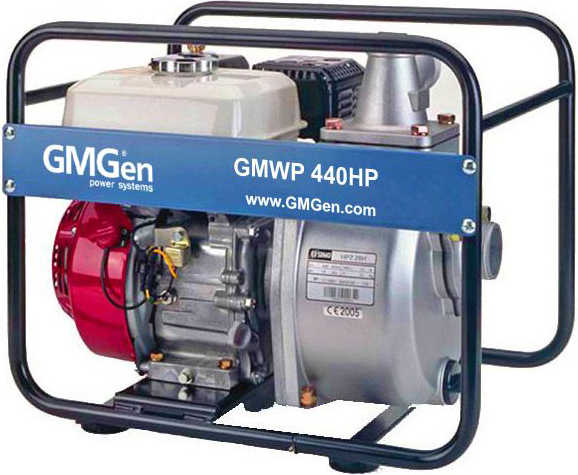 Мотопомпа GMGen GMWP440HP