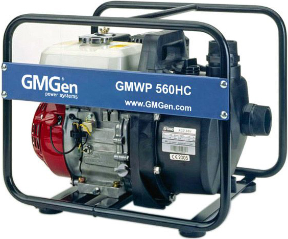 Мотопомпа GMGen GMWP560HC
