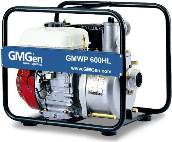 Мотопомпа GMGen GMWP600HL