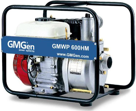 Мотопомпа GMGen GMWP600HM