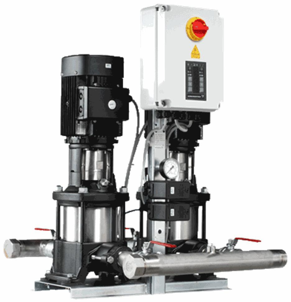 Установка повышения давления Grundfos Hydro Multi-S P 2CR10-8 3x400/50hz,PE