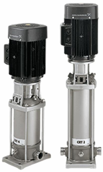 Многоступенчатый вертикальный насос Grundfos CRT 4-4 A-P-A-E-AUUE