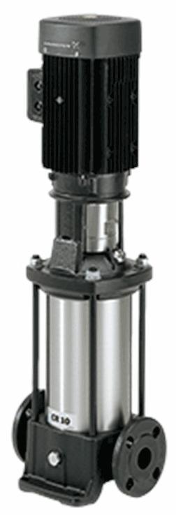 Многоступенчатый вертикальный насос Grundfos CR 10-6 A-A-A-E-HQQE
