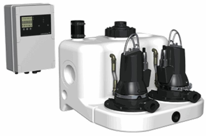 канализационная установка grundfos