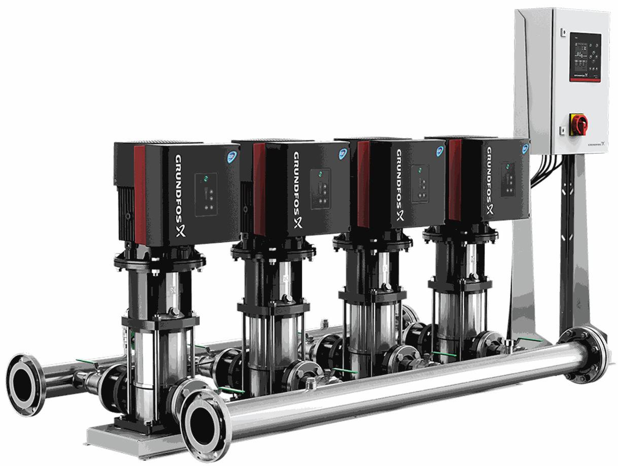Установка повышения давления Grundfos Hydro MPC-E 5 CRE64-2-2 50/60Hz RUS