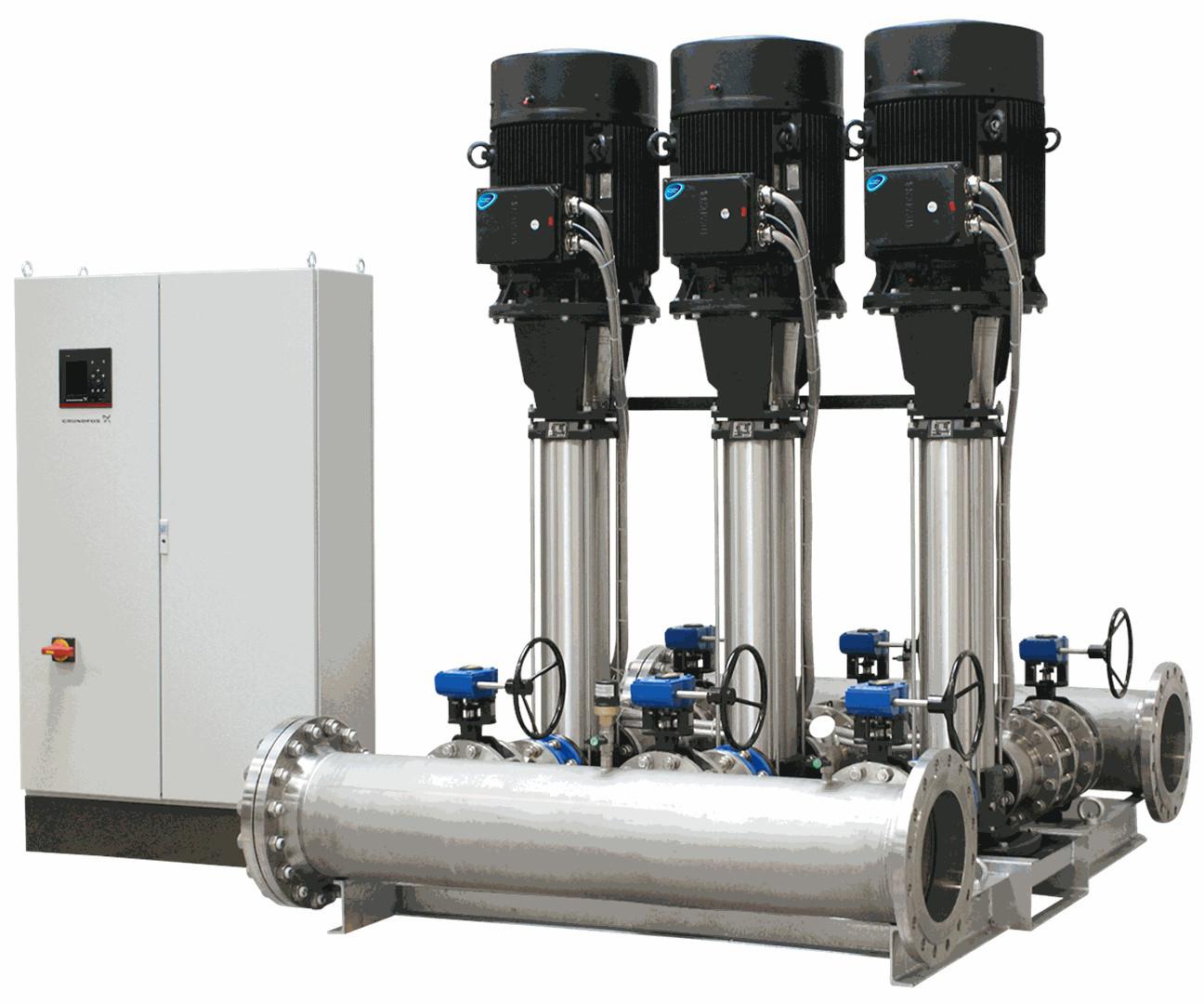 Установка повышения давления Grundfos Hydro MPC-E 6 CR64-3-1 50/60Hz RUS