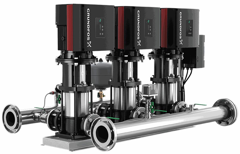 Установка повышения давления Grundfos HYDRO MULTI-E 3 CRE15-4