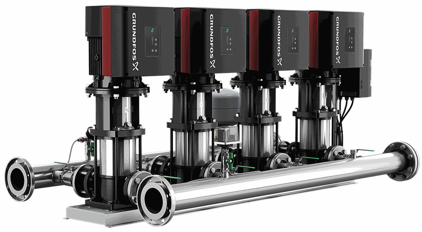Установка повышения давления Grundfos HYDRO MULTI-E 4 CRE10-01