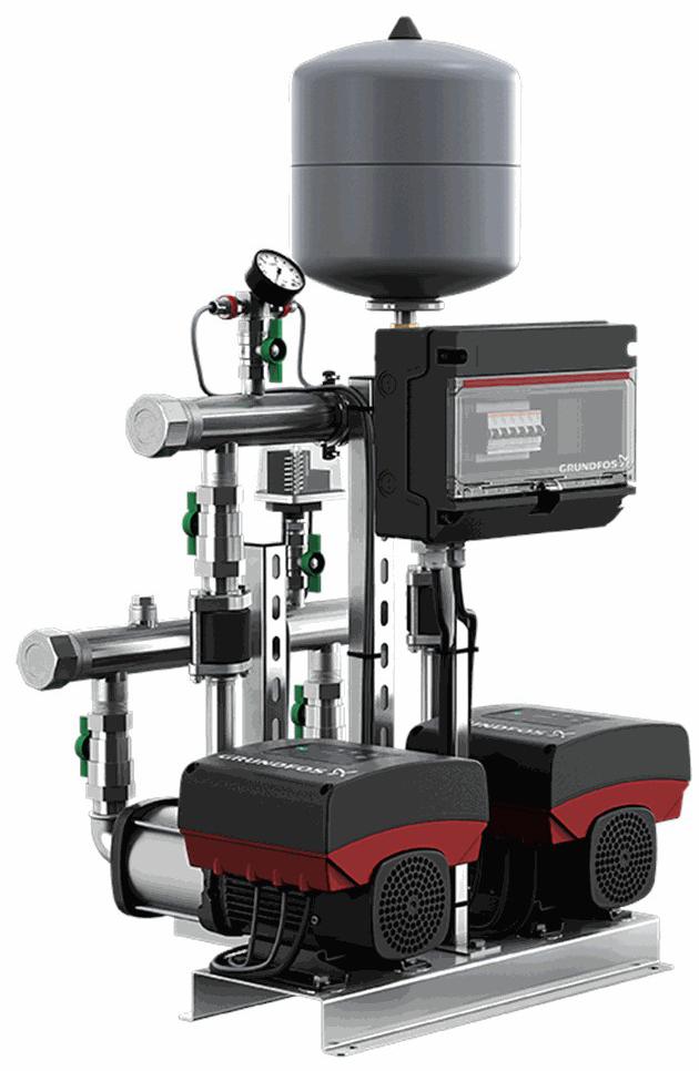 Установка повышения давления Grundfos HYDRO MULTI-E 2 CME3-05