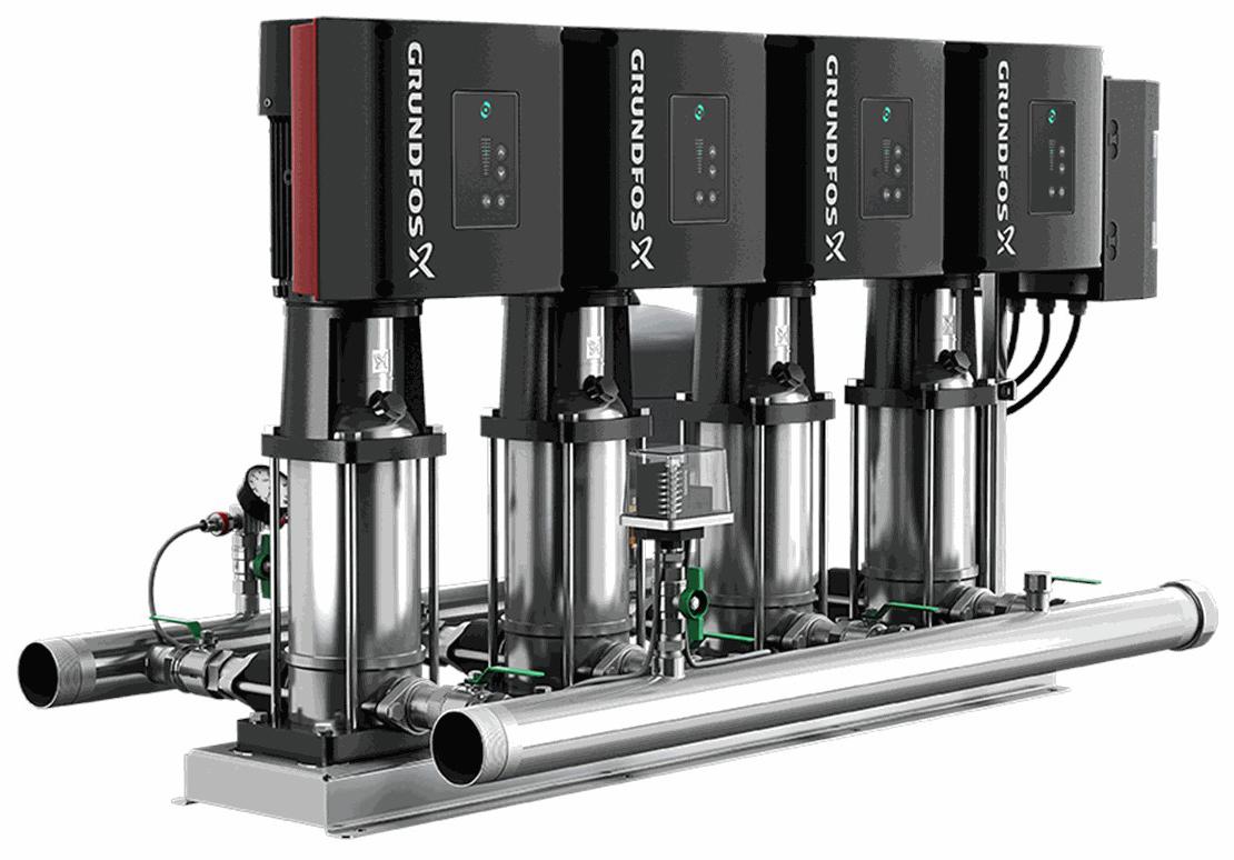 Установка повышения давления Grundfos HYDRO MULTI-E 4 CRE3-08