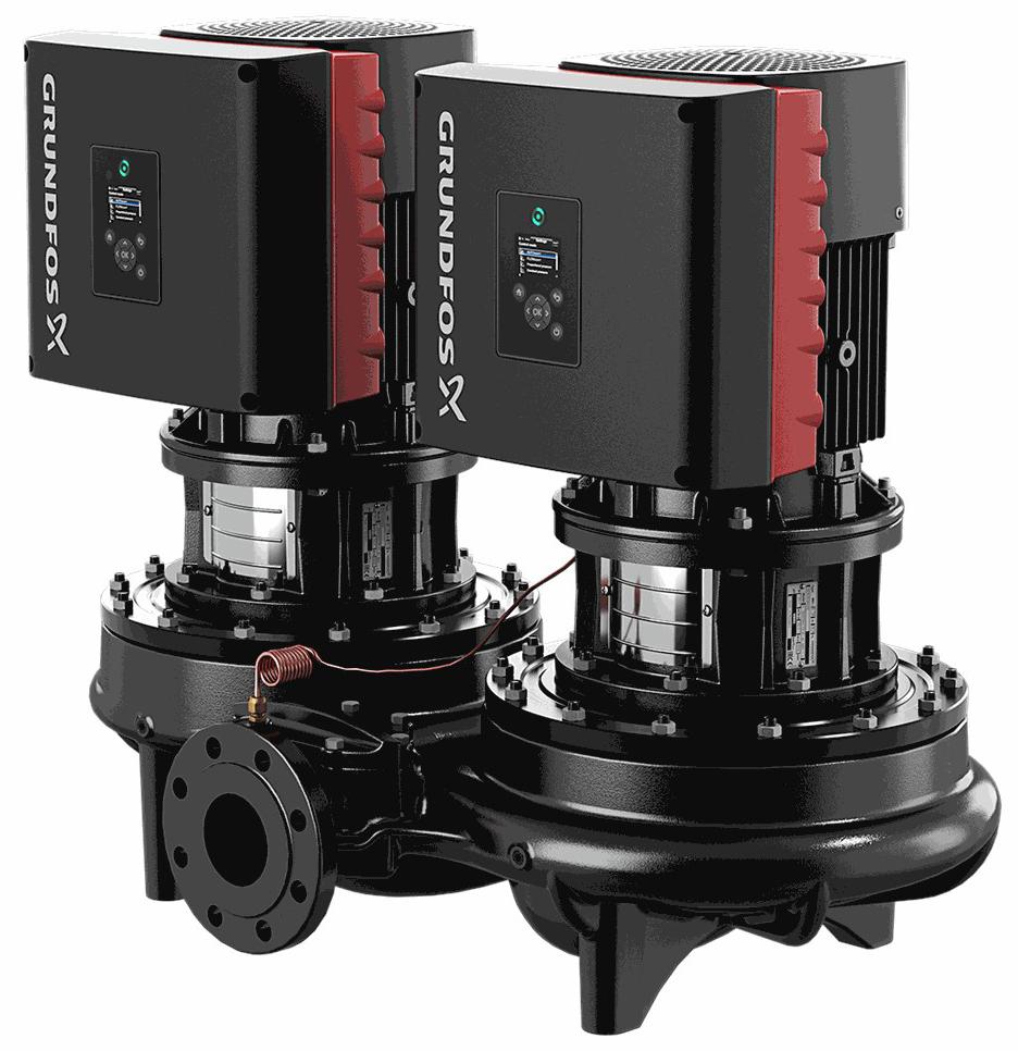Центробежный насос 5,5 квт Grundfos TPED 125-130/4 S-A-F-A-BQQE-LD3