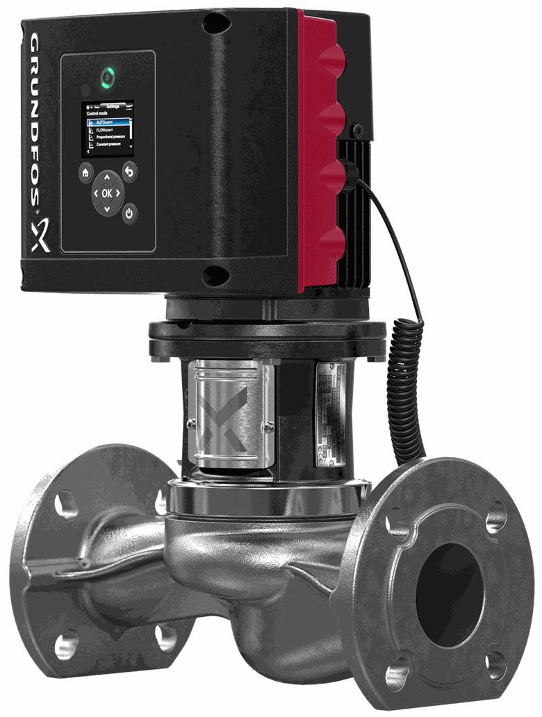 Центробежный насос 0,55 квт Grundfos TPE3 40-150 S-A-F-I-BQQE-EAB
