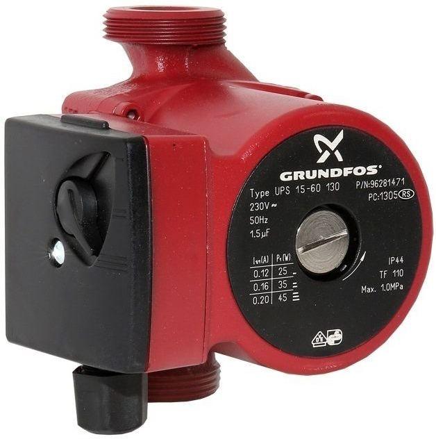 Циркуляционный насос Grundfos UPS 15-60 130