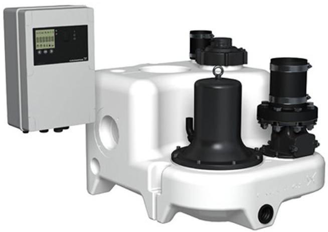 Канализационная насосная установка Grundfos MULTILIFT M.22.3.4 (10м)