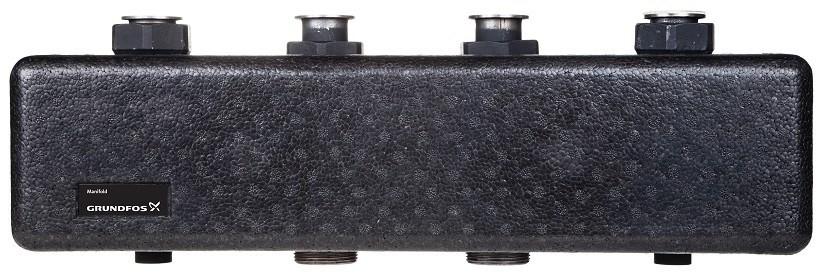 Коллектор двухконтурный Heatmix без гидроразделителя Grundfos