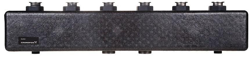 Коллектор трёхконтурный Heatmix без гидроразделителя Grundfos