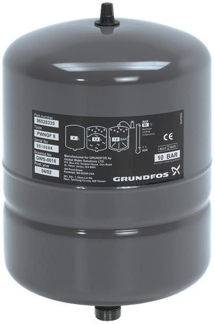 Мембранный бак Grundfos GT-H-12L V PN10