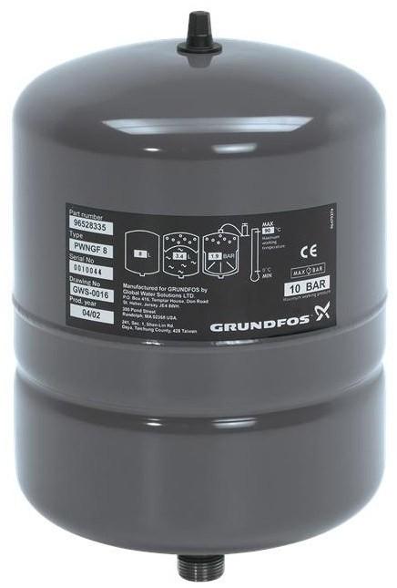 Мембранный бак Grundfos GT-H-24L V PN16