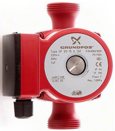 Циркуляционный насос Grundfos UP 20-07 N