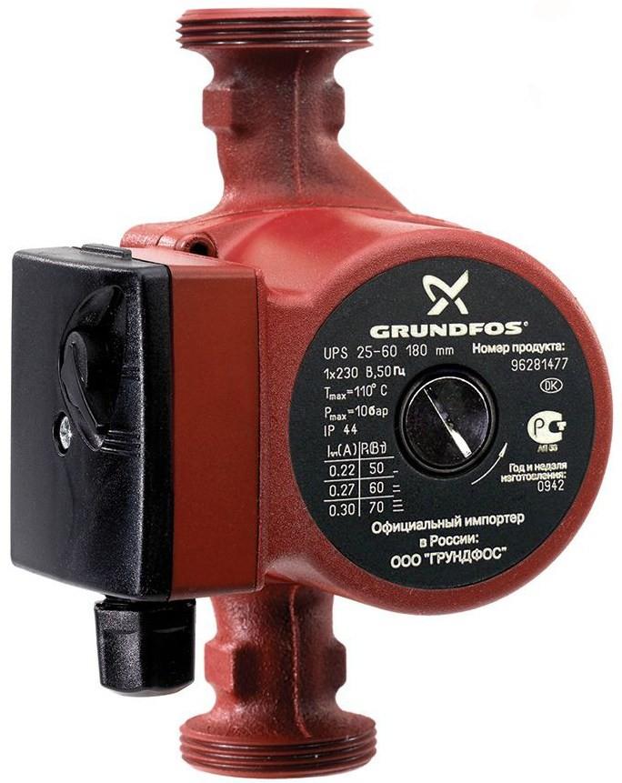 Циркуляционный насос Grundfos UPS 25-40 N