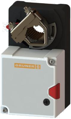 Привод для воздушных заслонок GRUNER 227-230-05-P5