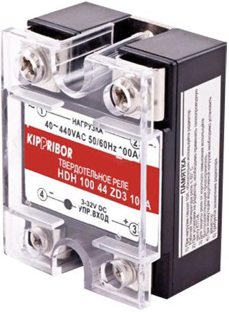 Твердотельные реле в стандартном корпусе для коммутации мощной нагрузки KIPPRIBOR HDH-10044-ZD3