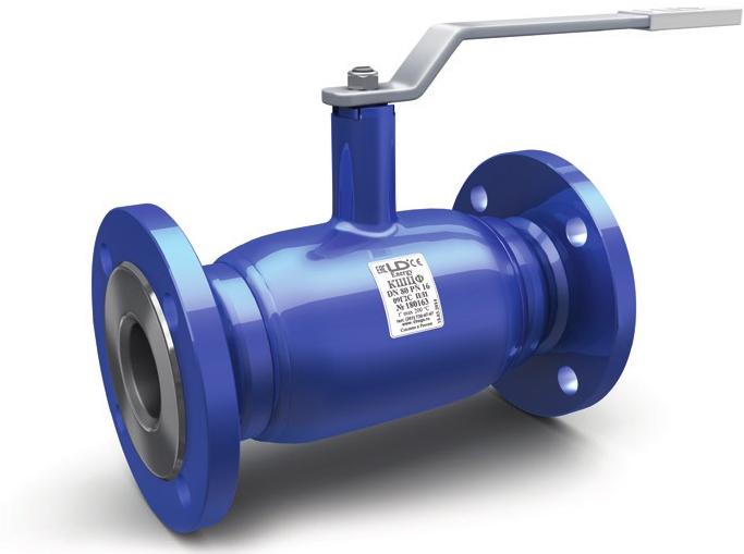 Кран шаровой стандартнопроходной фланцевый LD КШЦФ Energy DN100 РN25