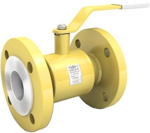 Кран шаровой равнопроходной фланцевый для газа LD КШЦФ GAS DN50  PN40