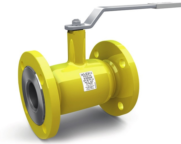 Кран шаровой полнопроходной фланцевый для газа LD КШЦФ GAS DN200 PN25