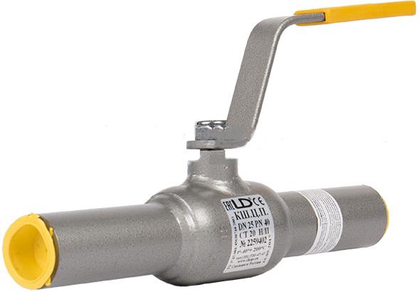 Кран шаровой стандартнопроходной под приварку LD КШЦП DN150 PN25