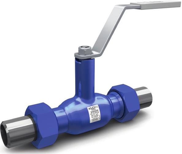 Кран шаровой полнопроходной штуцерный LD КШЦШ Energy DN20 РN40