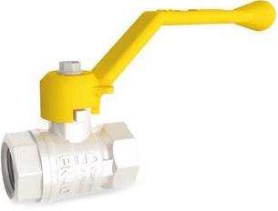 Кран шаровой латунный резьбовой для газа LD Pride 47.40. GAS