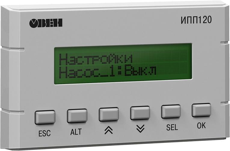 Информационная программируемая панель оператора ОВЕН ИПП120-1