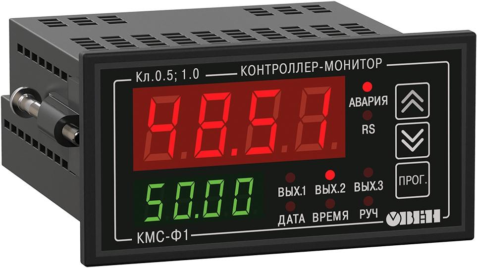Цифровой мультиметр с аварийной сигнализацией и RS-485 ОВЕН КМС-Ф1.Щ2.И