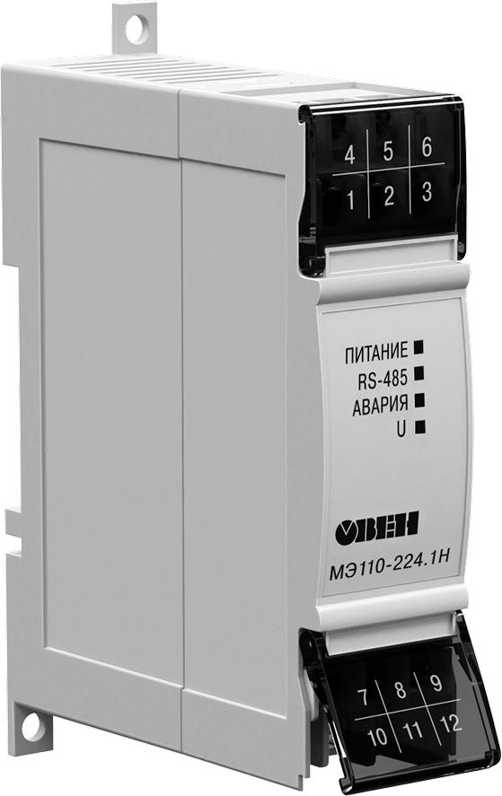Модуль измерения параметров электрической сети ОВЕН МЭ110-224.1Н