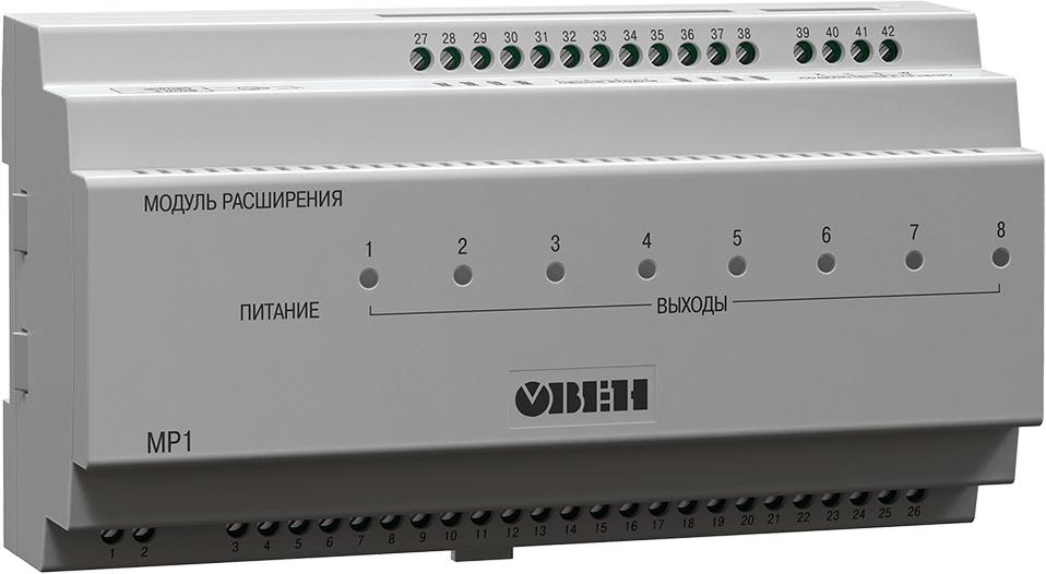 Модуль расширения выходных элементов для ТРМ133М и ТРМ132М ОВЕН МР1-Р
