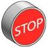 Кнопка с маркировкой с пружинным возвратом MEYERTEC MTB2-BAZ12434