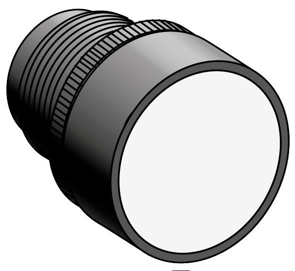 Головка кнопки с толкателем с маркировкой MEYERTEC MTB2-EA3 (комплект 10 шт)