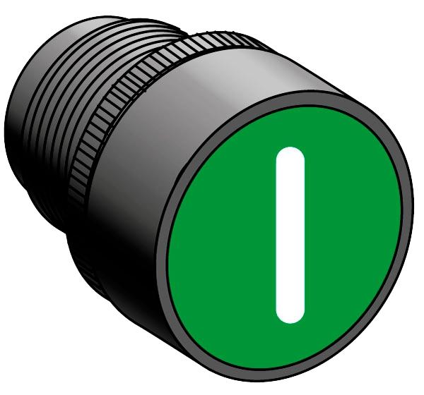 Головка кнопки с толкателем с маркировкой MEYERTEC MTB2-EA335