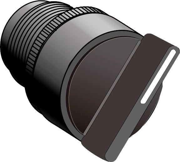 Головка переключателя короткая ручка MEYERTEC MTB2-ED4